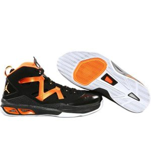 Nike Jordan Melo M9 Black Bright Citrus Basketball