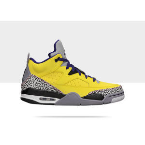 Nike Air Jordan Son Of Mars Low Tour Yellow