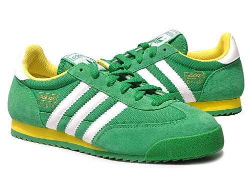 adidas dragon green
